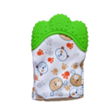 Baby Boys/Girls Green Teething Mitten