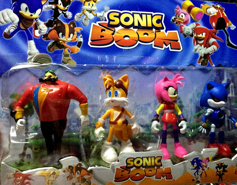 Sonic Sets of 4 Figurines