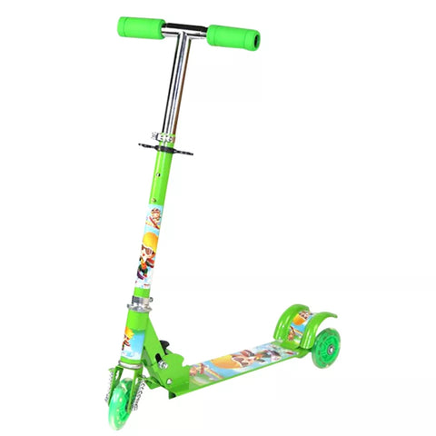 Kids Green Scooter