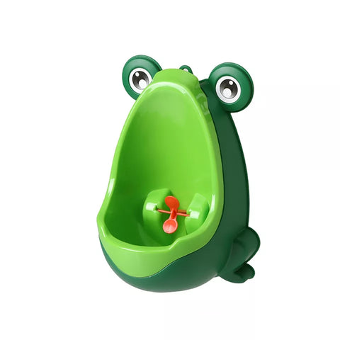 Urinal Potty Froggy Green