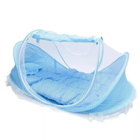 Baby Boys Blue Sleeping Mosquito Tent