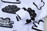 Baby Boys/Girls Black & White Cloud Set