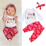 Baby Girls Santa Baby Christmas Set