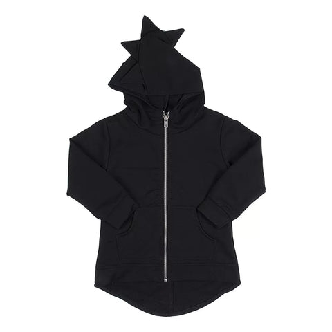Dino Tracksuit Top Black