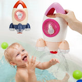 Fountain Rocket Bath Toy