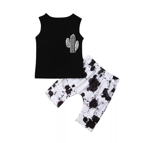 Baby Boys Cactus Short Set