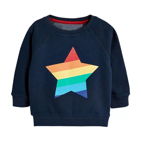Rainbow Star Tracksuit Top
