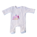 Baby Girls Wild One Babygrow