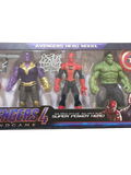Avengers 4 - Medium Set of 5