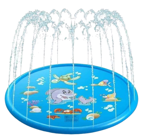 Kids Blue Sprinkler Mats