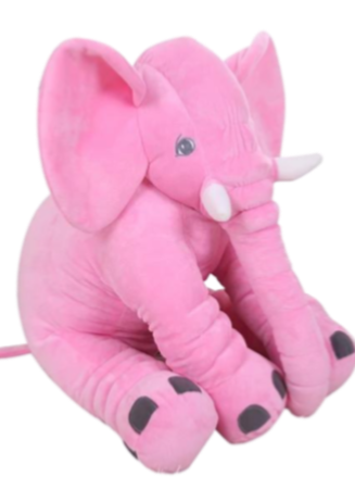 Baby Girls Pink Elephant Pillow
