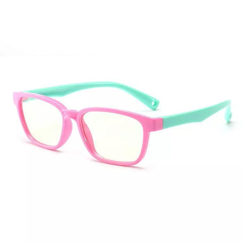 Blue Light Blocking Glasses (Pink & Green)