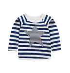 Boys Star Stripe Longsleeve Top