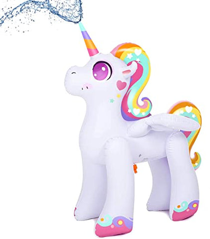 Unicorn Blow Up Water Sprinkler