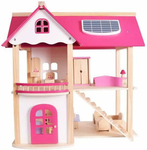 Girls Wooden Doll House