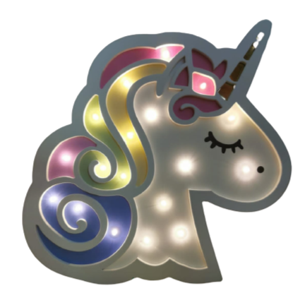 Girls Unicorn Night Light