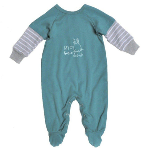 Babygrow Afrikaans Aqua My Hasie-Babygrow-Little Things