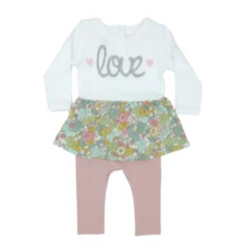 Babygrow Dress Leggings Autumn Field-Baby Grow-Little Things