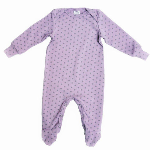 Babygrow Lavender & Dots-Babygrow-Little Things