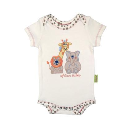 Babygrow Summer Cream Animal-Babygrow-Little Things