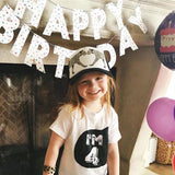 Birthday T-Shirts White & Black-T-Shirt-Little Things