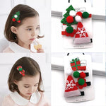 Christmas Hairclips-Hair clips-Little Things