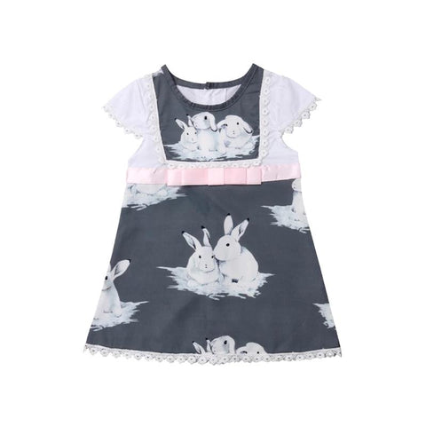 Dress Grey Bunny-Dress-Little Things