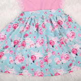 Dress Pink Floral-Dress-Little Things