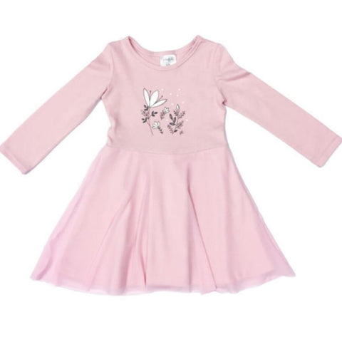 Dress Winter Twirl-Long sleeve dress-Little Things