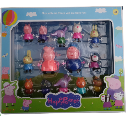 14 Pc Peppa Pig Set