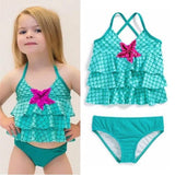 Green Two Piece Costume-Girls Two Piece Costume-Little Things