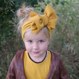 Headbands Big Baby Bow-Headband-Little Things