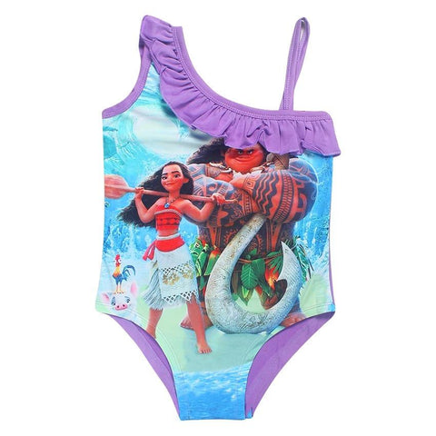 Moana Costume-Girls One Piece Costume-Little Things