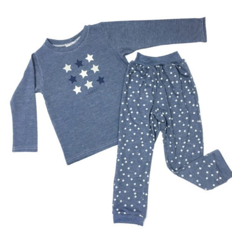 Pajamas Boys Star Winter-Pajamas-Little Things