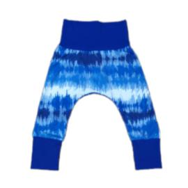 Pants Blue Tie Dye Print-Pants-Little Things