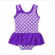 Purple Polka Dot-Girls One Piece Costume-Little Things