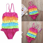 Rainbow Ruffle Costume-Little Things