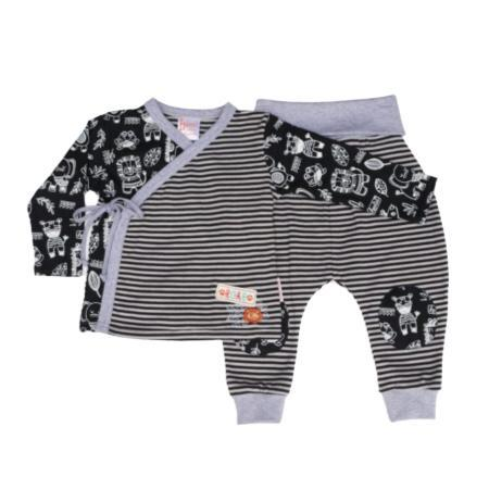 Set Lion Roar Kimono-Long sleeve shirt and pants-Little Things