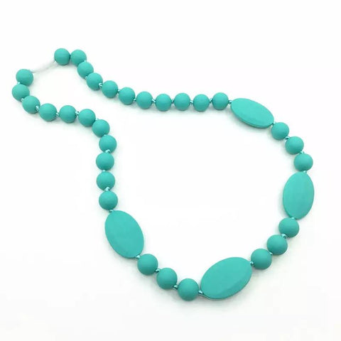 Silicone Teething Necklace for Mom-Silicone Teething Necklace-Little Things