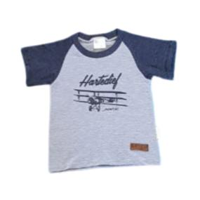 T-Shirt Aeroplane Hartedief-Babygrow-Little Things