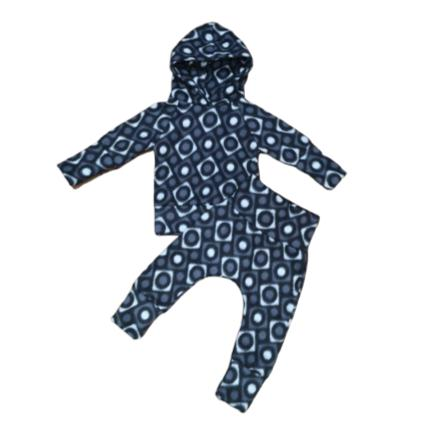 Tracksuit Blue Fleece Winter-Tracksuit-Little Things