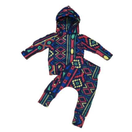 Tracksuit Boys Fleece Winter Colourful-Tracksuit-Little Things