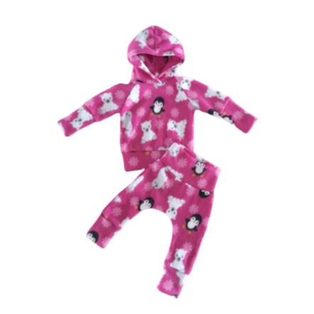 Tracksuit Fleece Winter Pink-Tracksuit-Little Things