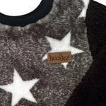 Tracksuit Top Black & White Star-Tracksuit Top-Little Things