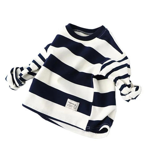 Tracksuit Top Navy & White-Tracksuit Top-Little Things