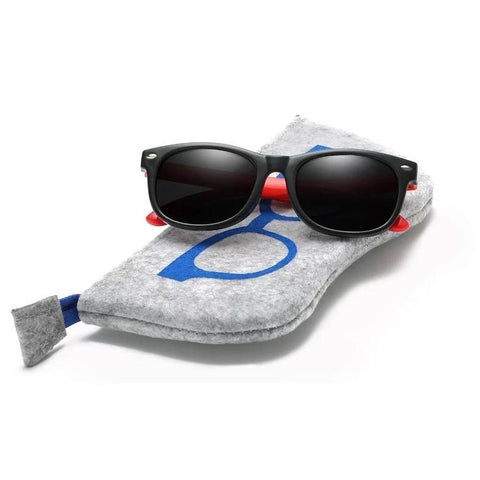 War Blade Kiddies Sunglasses & Bag-Sunglasses-Little Things