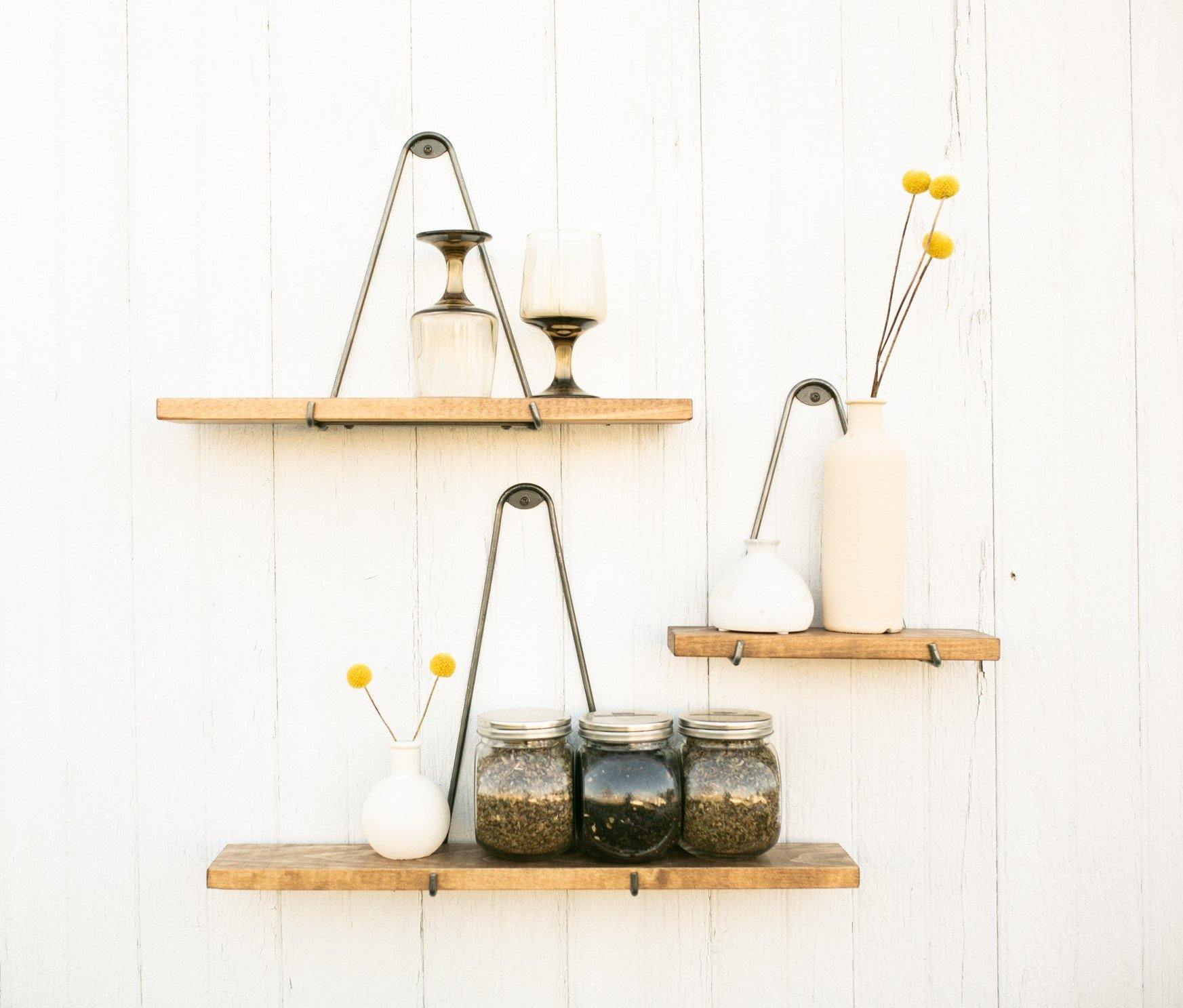 Minimalistic Shelves - Timber Made Design Co