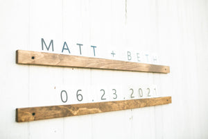 Letters + Ledge - Timber Made Design Co