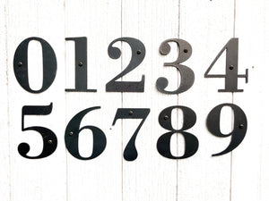Metal Letters + Numbers - Timber Made Design Co