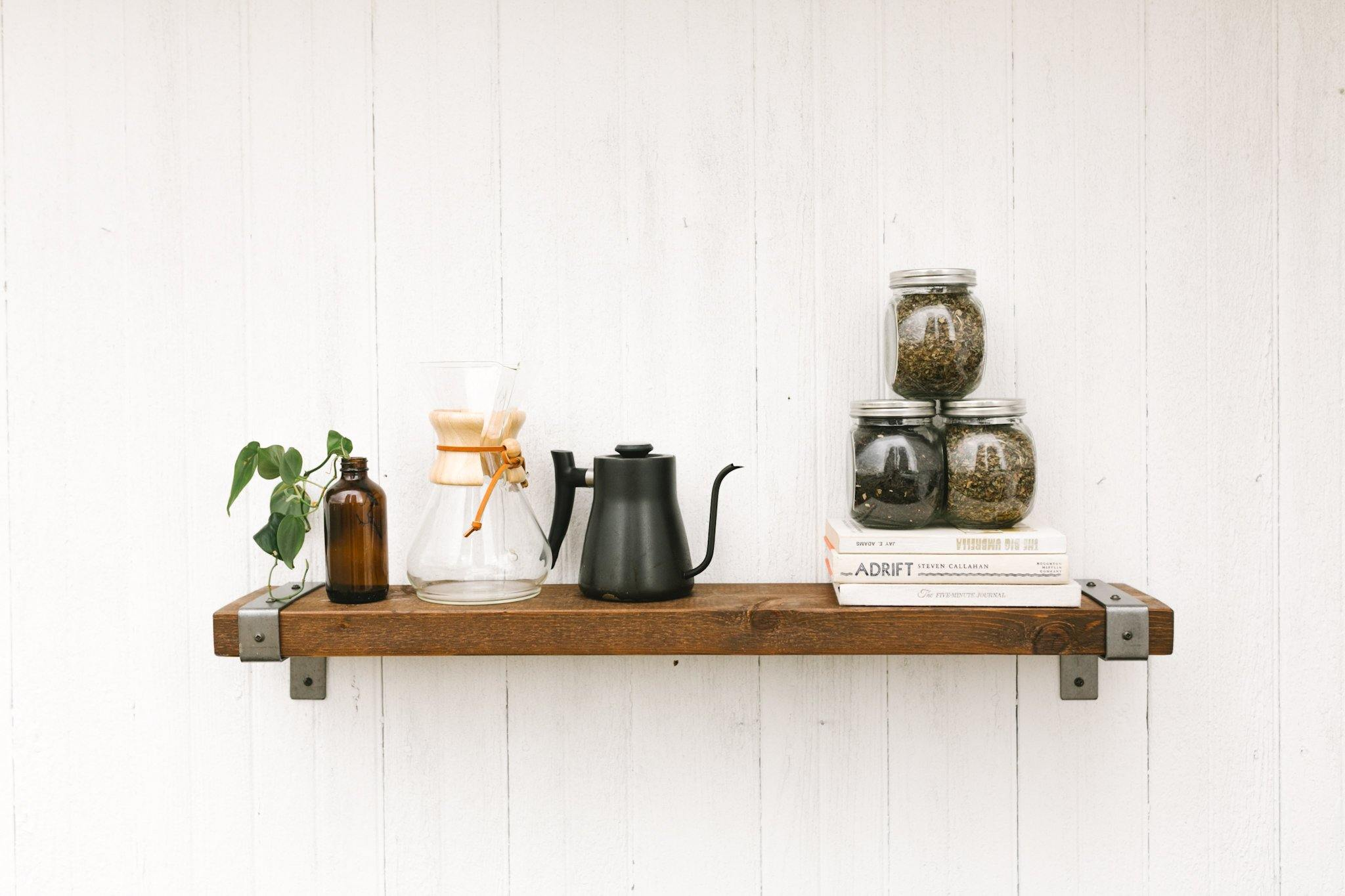Industrial Shelves - Timber Made Design Co